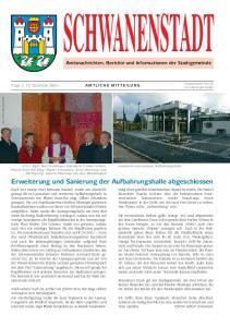 SCHWANENSTADT. Erweiterung und Sanierung der Aufbahrungshalle abgeschlossen. Amtsnachrichten, Berichte und Informationen der Stadtgemeinde