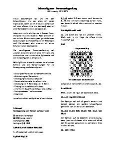 Schwerfiguren - Turmverdoppelung SK Germering