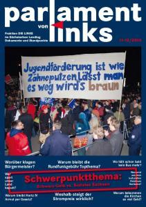 Schwerpunktthema: Schwarz-Gelb vs. Soziales Sachsen