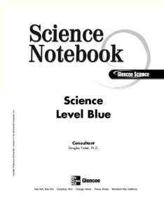 Science Level Blue Consultant