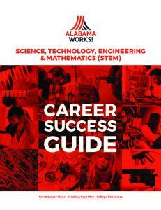 SCIENCE, TECHNOLOGY, ENGINEERING & MATHEMATICS (STEM)