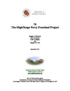 Scope Perry Preschool Project