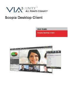 Scopia Desktop Client