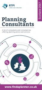 Scotland Planning Consultants. A list of consultants and consultancies offering planning advice and services