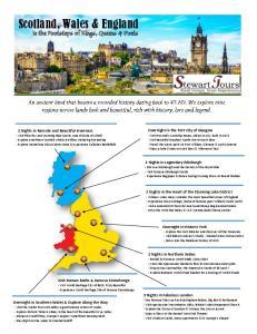Scotland, Wales & England