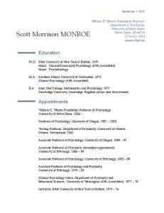 Scott Morrison MONROE