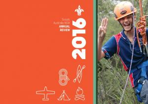 Scouts Australia NSW ANNUAL REVIEW. Caption Goes Here