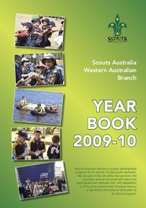 Scouts Australia Western Australian Branch Year Book