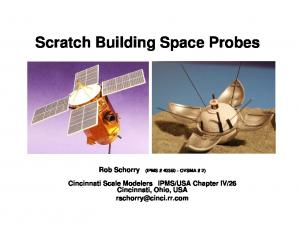 Scratch Building Space Probes