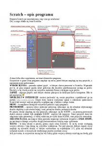 Scratch opis programu