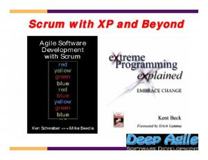 Scrum with XP and Beyond