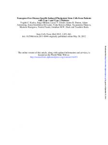 sctm originally published online May 30, 2012