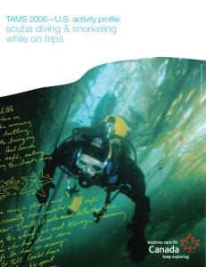 scuba diving & snorkeling while on trips