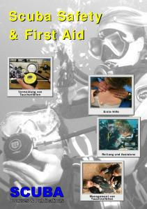 Scuba Safety & First Aid