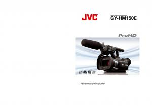 SD Memory Card Camcorder GY-HM150E HD SD. Performance Evolution