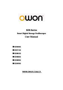 SDS Series. User Manual