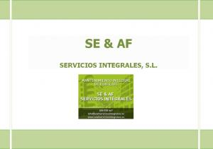 SE & AF SERVICIOS INTEGRALES, S.L