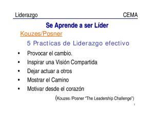 Se Aprende a ser Líder
