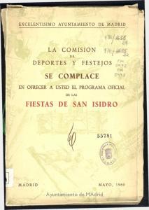 SE COMPLACE FIESTAS DE SAN ISIDRO