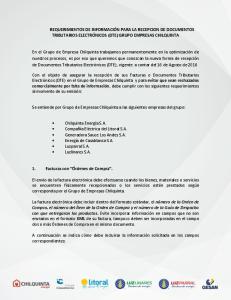 Se entiende por Grupo de Empresas Chilquinta a las siguientes empresas del grupo: