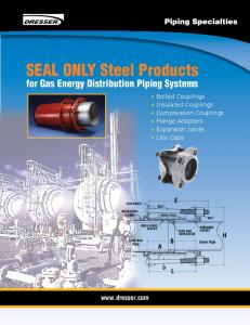 SEAL ONLY Steel Products