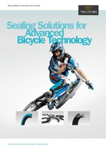 Sealing Solutions for Advanced Bicycle Technology