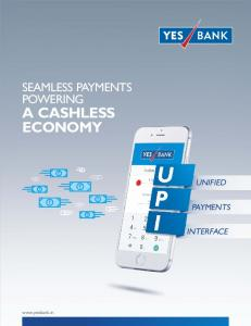 SEAMLESS PAYMENTS POWERING A CASHLESS UNIFIED PAYMENTS INTERFACE