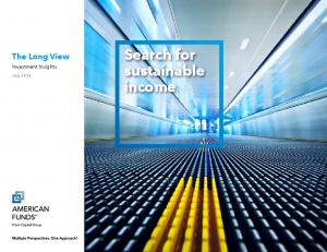 Search for sustainable income