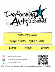 Season. Sept June 6, Dance Music Drama