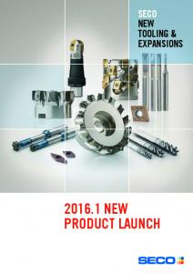 SECO NEW TOOLING & EXPANSIONS NEW PRODUCT LAUNCH