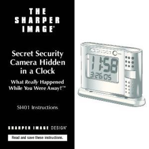 Secret Security Camera Hidden in a Clock