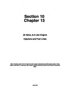 Section 10 Chapter 13