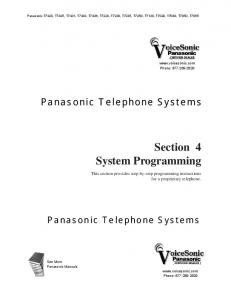 Section 4 System Programming