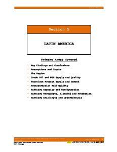 Section 5 LATIN AMERICA