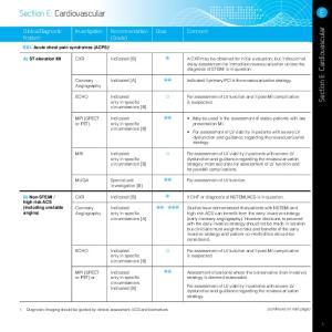 Section E: Cardiovascular