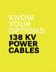 Section kv Power Cables