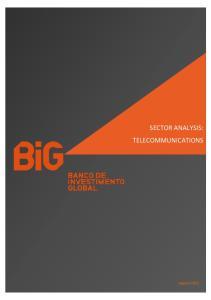 SECTOR ANALYSIS: TELECOMMUNICATIONS