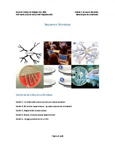 Secuencia: Microbios