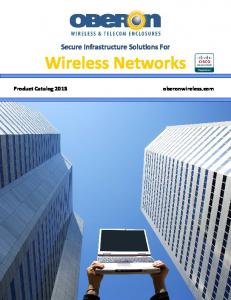 Secure Infrastructure Solutions For. Wireless Networks
