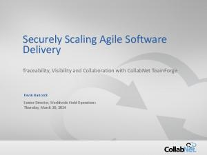 Securely Scaling Agile Software Delivery