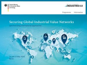 Securing Global Industrial Value Networks