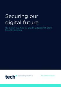 Securing our digital future