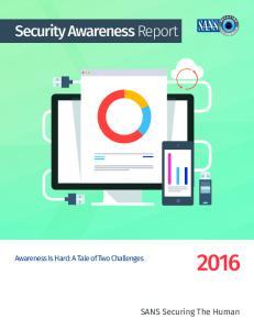 Security Awareness Report