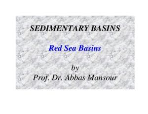 SEDIMENTARY BASINS Red Sea Basins