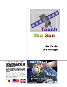 See the Sun in a new light