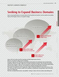 Seeking to Expand Business Domains