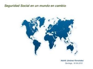 Seguridad Social en un mundo en cambio