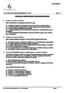 SEGUROS DE RISCOS RURAIS E EQUIPAMENTOS RURAIS