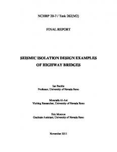 SEISMIC ISOLATION DESIGN EXAMPLES OF HIGHWAY BRIDGES