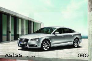 Seite. Faszination. 4 Audi A5 Sportback 20 Audi S5 Sportback. Technik. 32 Innovationen 40 Performance. 34 Audi ultra 42 Dynamik